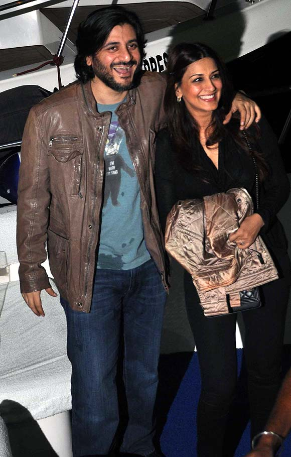Goldie Behl and Sonali Bendre