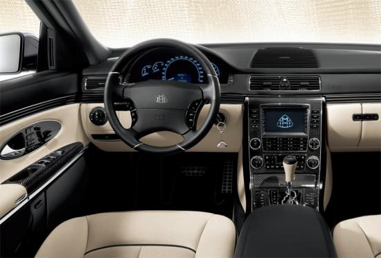 Interior of Maybach 57 S
