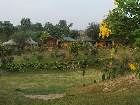 MHE Camp at Damdama Lake