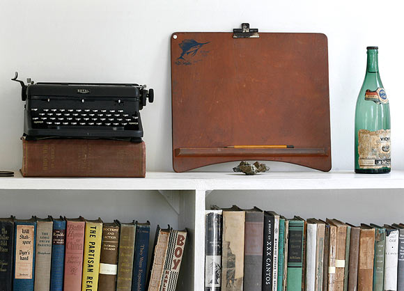 Personal items used by late Nobel-prize winning author Ernest Hemingway