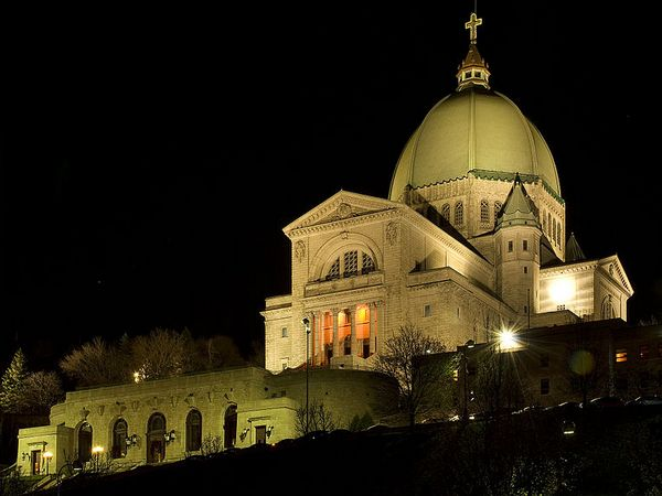 Saint Joseph's Oratory of Mount Royal, Montreal