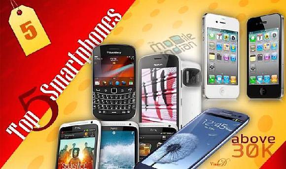 Smartphones  30,000