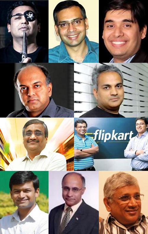 Top 10 Indian role models for start-ups