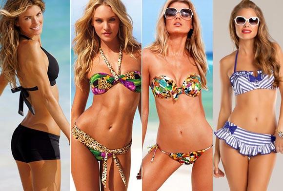 Swimwear to flatter YOUR figure