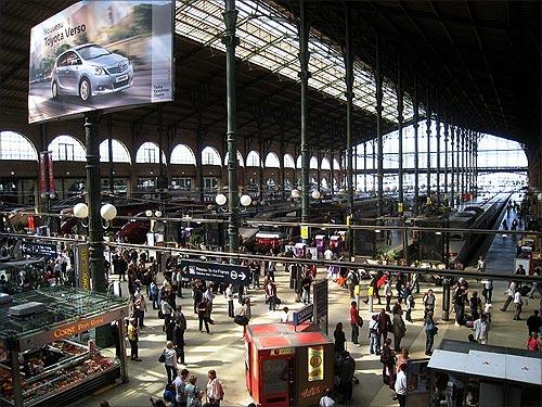 Gare du Nord, Paris.
