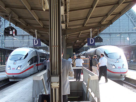 ICE 3 DB Class 407.