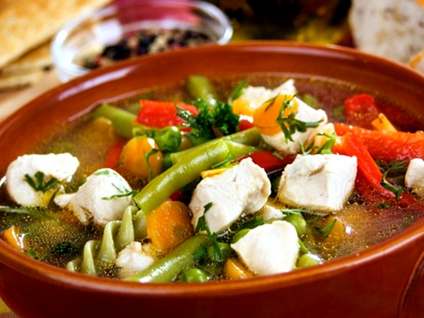 Nutrient rich soups or broth for healthy weight loss