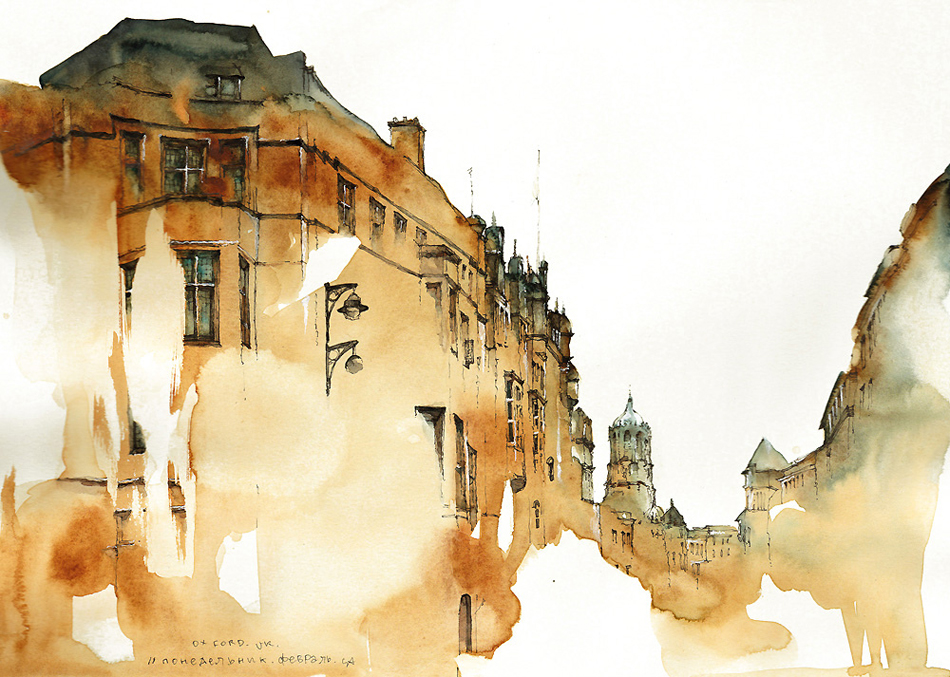 Awesome Water Color Painting Art by Elayaraja from Chennai, India14