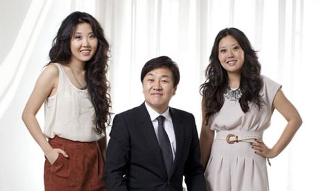 Do Won Chang with daughter Linda.