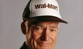 Walmart Stores founder Sam Walton.